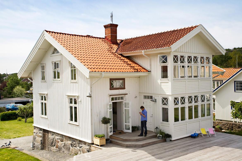 Villa med värmepump i Nacka eller Stockholm